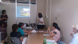 ユニセフは分科会の中で、模擬授業を実施しました。